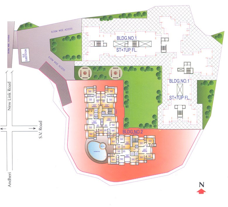 Sai Dham Tower Floor Plan
