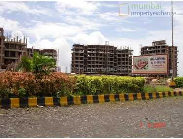 Flat for sale in Agarwal and Doshi Complex, Vasai