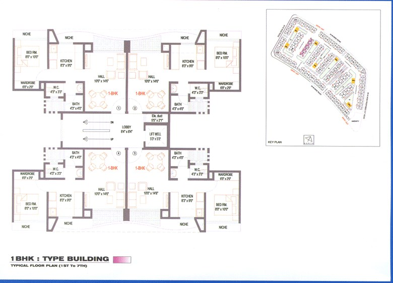 Global City Floor Plan 1