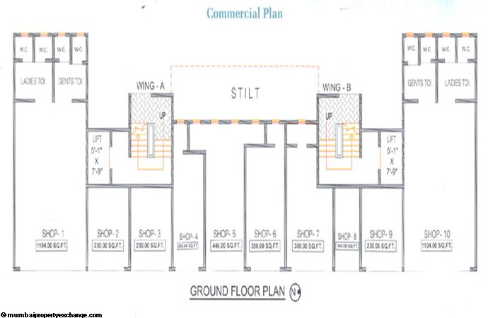 Nirlon Commercial Floor Plan