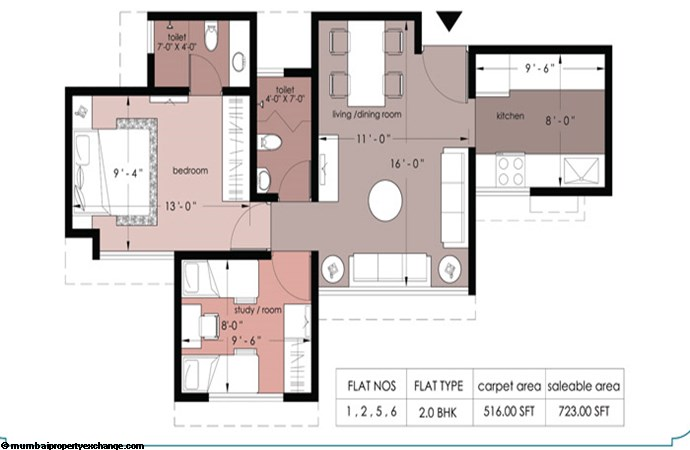 Everest Countryside Petunia Dafodil Marigold Floor Plan II