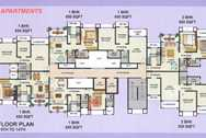 4018 Oth B Wing 1 To 7 And 9 To 14 Floor - Galaxy Apartment