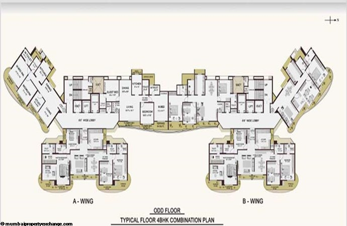 Cypress Aqua  Floor Plan I