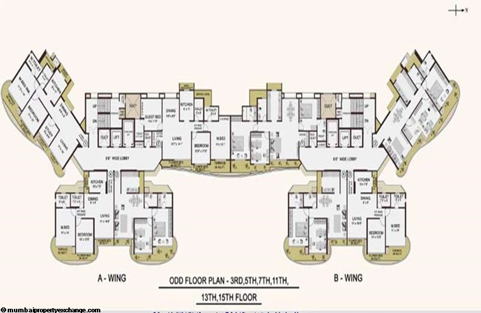 Cypress Aqua  Floor Plan II