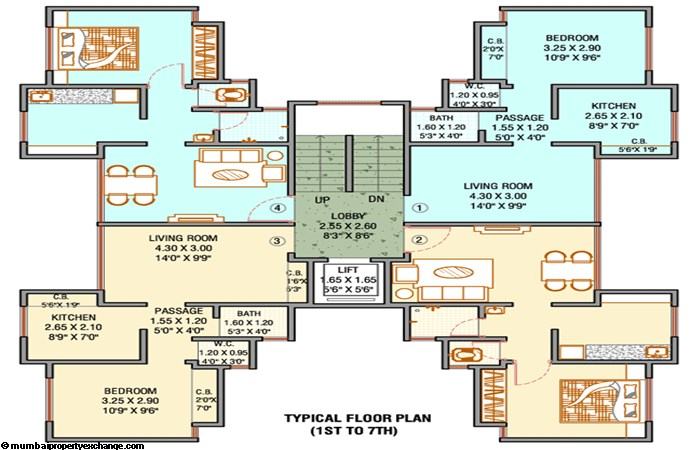 Unnathi Green Floor Plan III