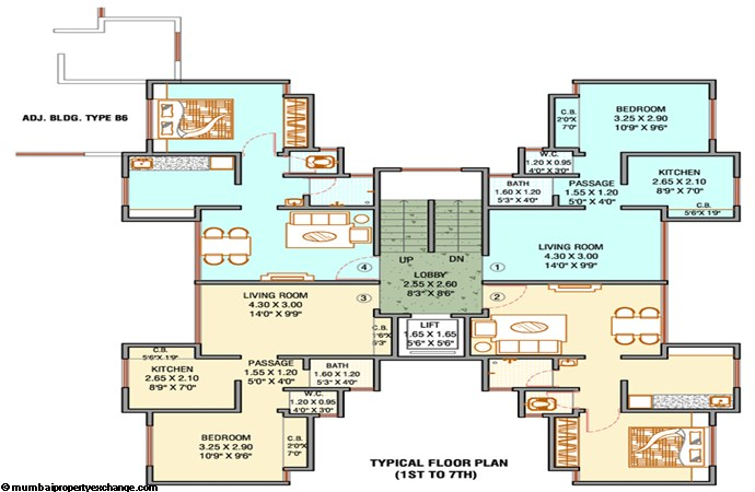 Unnathi Green Floor Plan IV