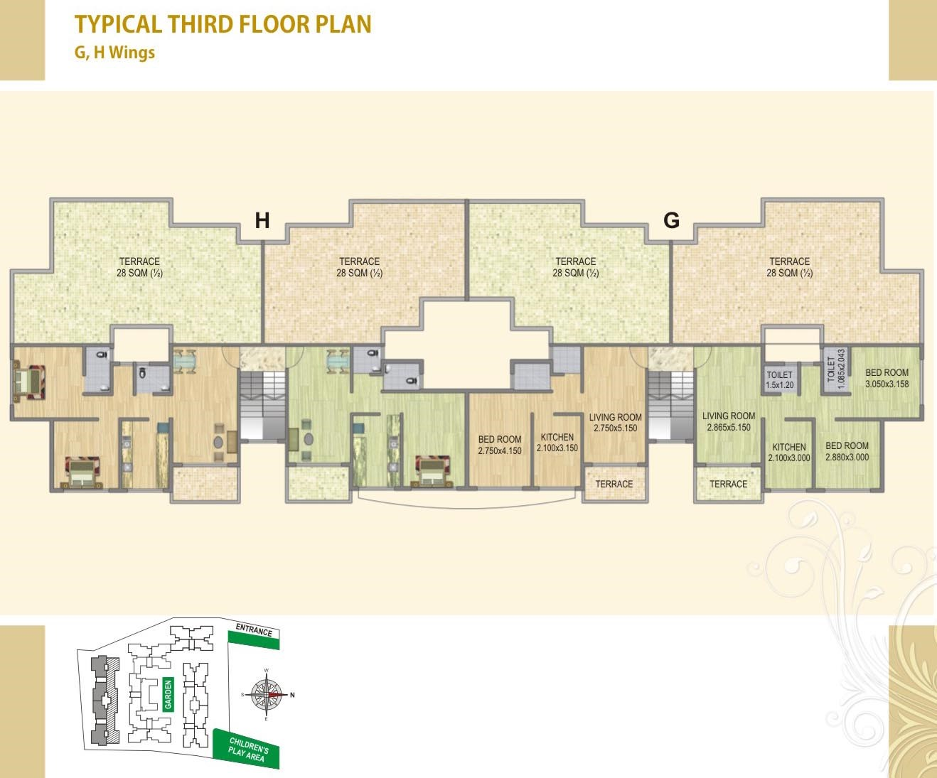 Fortune Green Heaven Floor PlanVIII