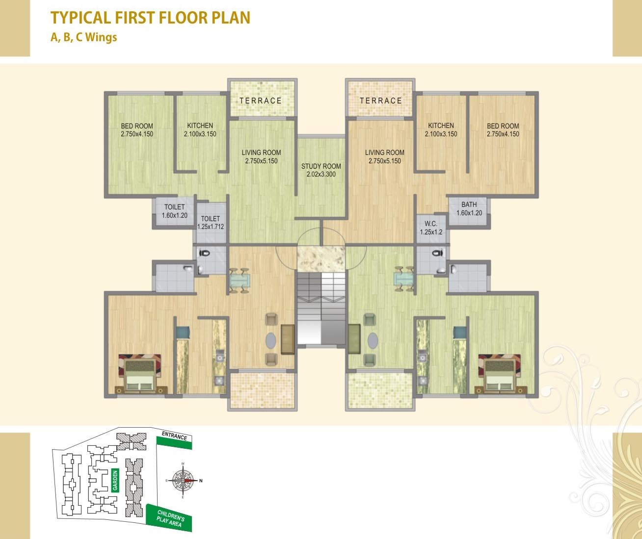 Fortune Green Heaven Floor Plan I