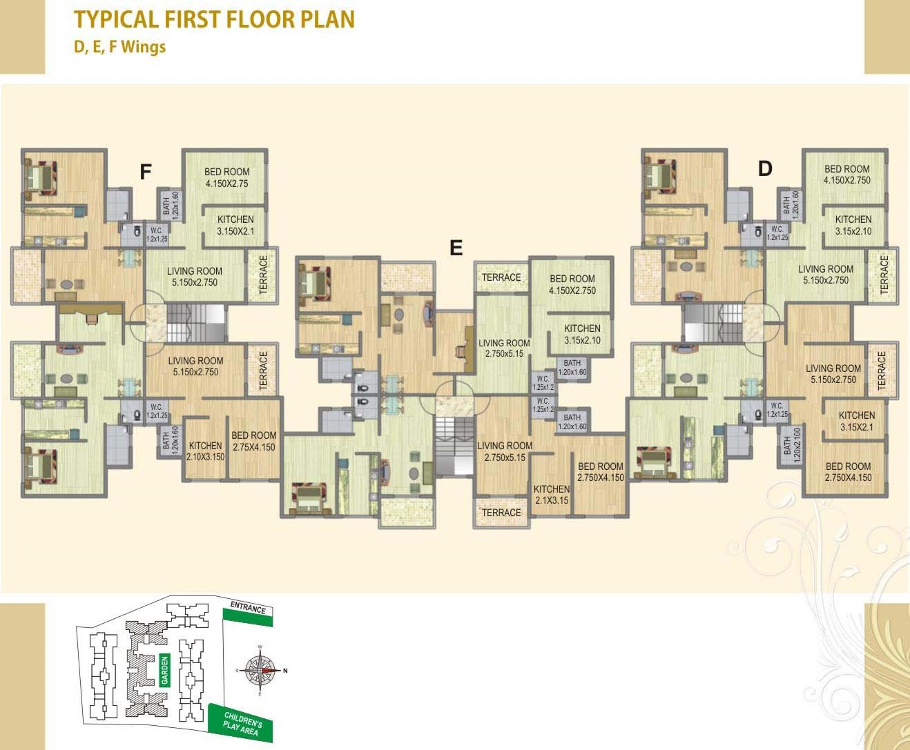 Fortune Green Heaven Floor Plan V