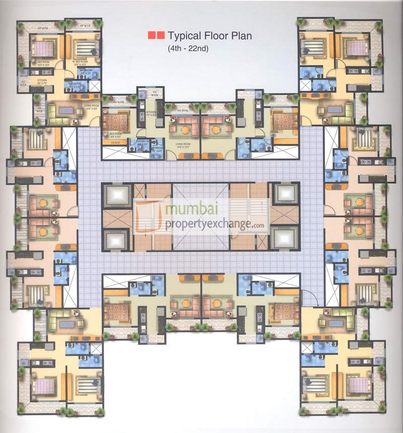 Brizo Residency Floor Plan I
