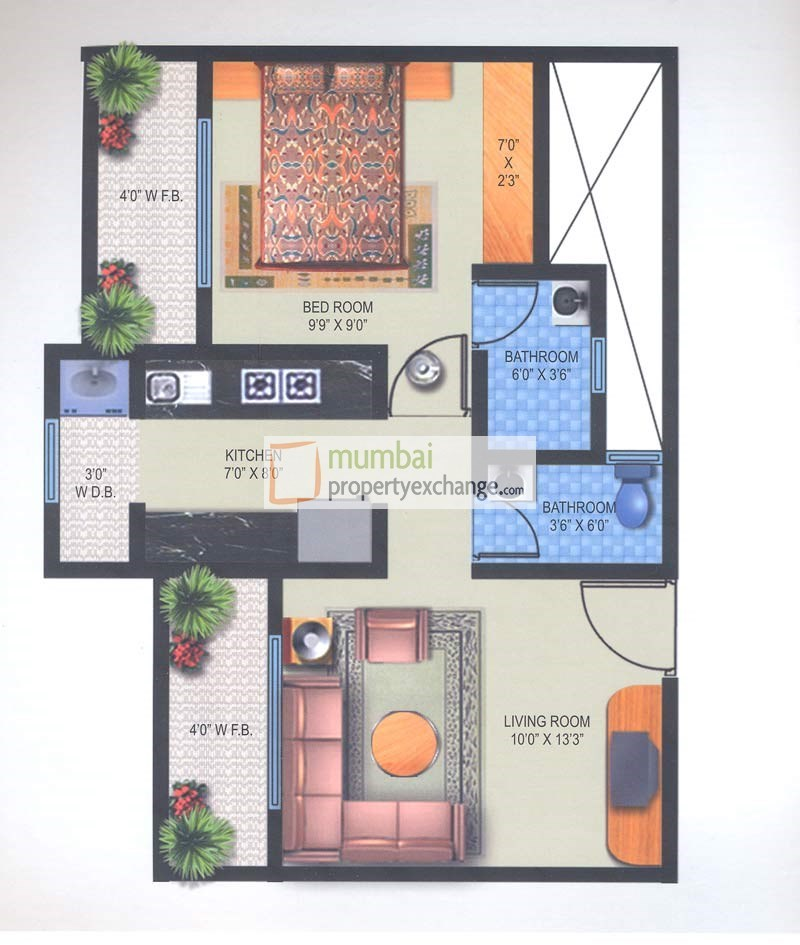 Brizo Residency Floor Plan II