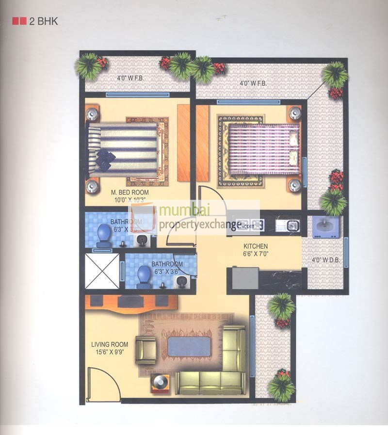 Brizo Residency Floor Plan III