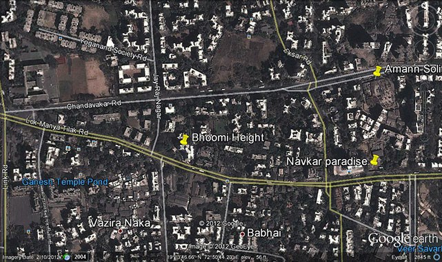 Bhoomi Heights Google Earth