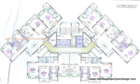 Octa Crest floor plan