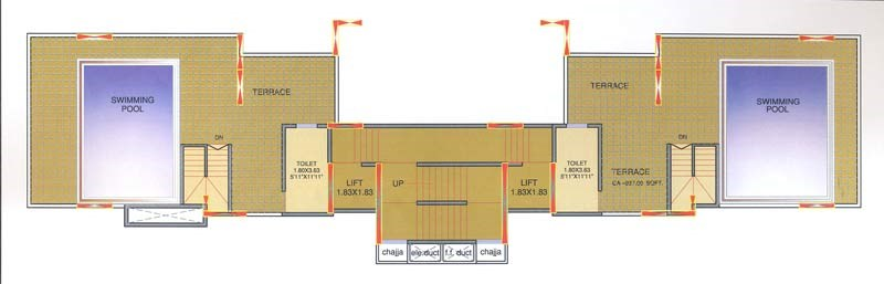 Mohini Tower 16 Floor Plan