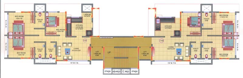 Mohini Tower Floor Plan II