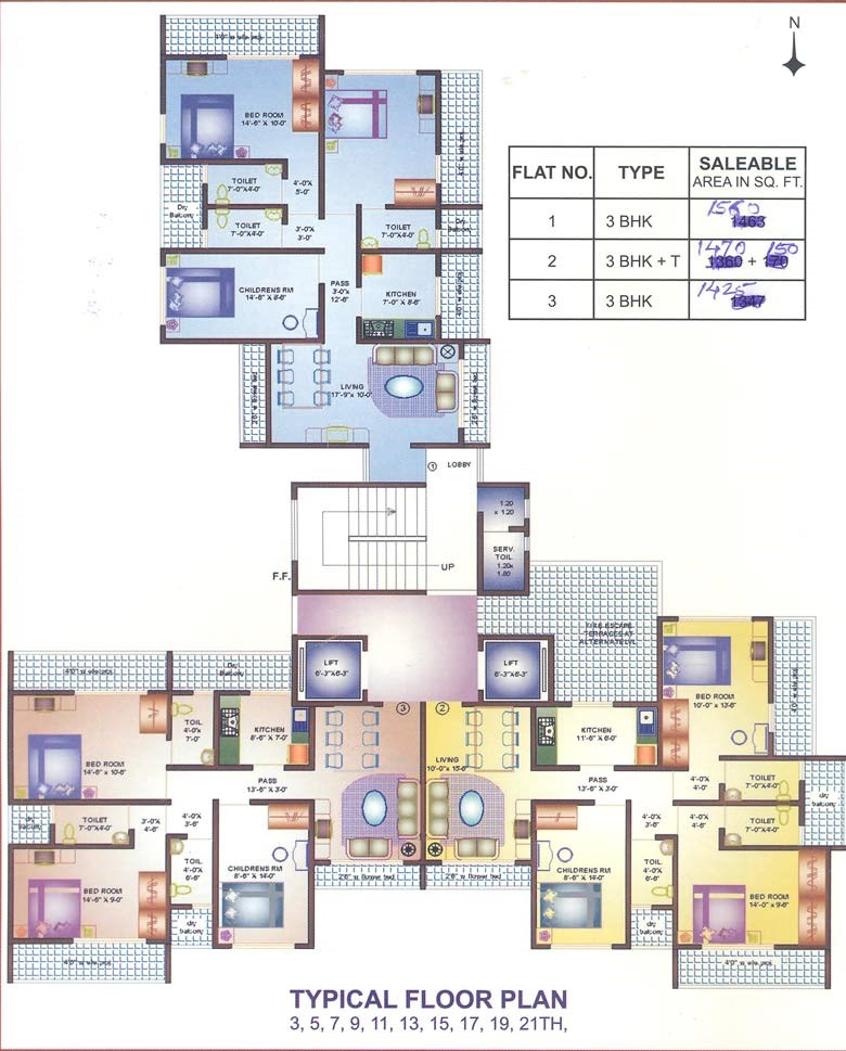 Durga Residency Floor Plan I