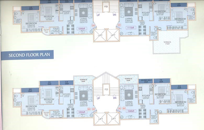 Oriental Heights Floor Plan I