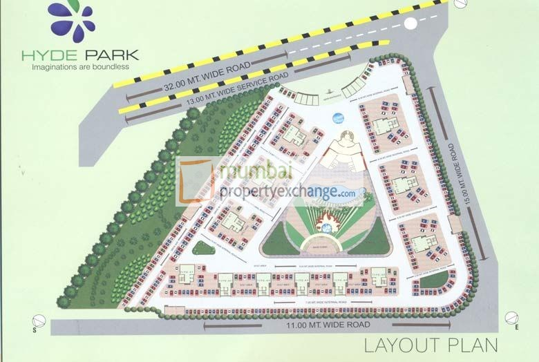 Hyde Park Layout