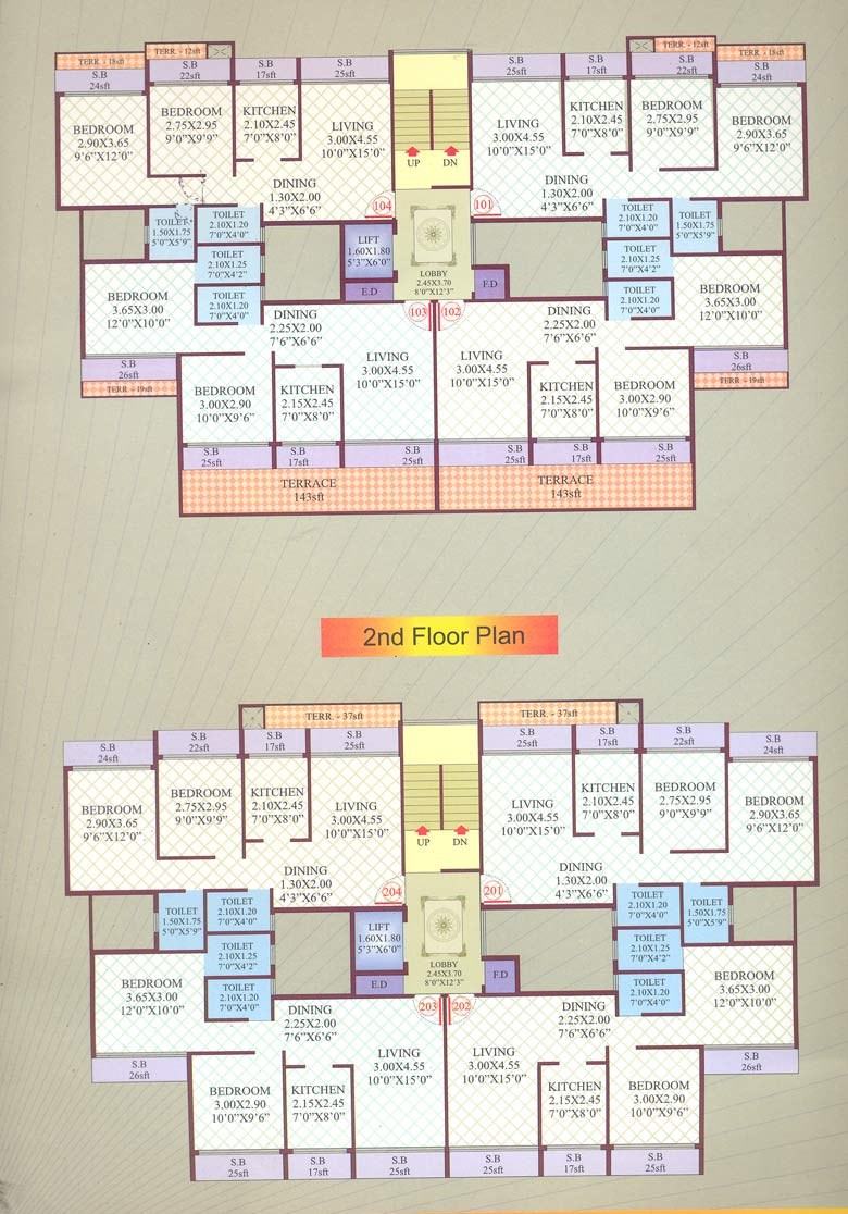 Dream Heritage Floor Plan I