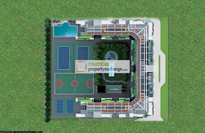 US Open Apartments Match Point Layout Plan