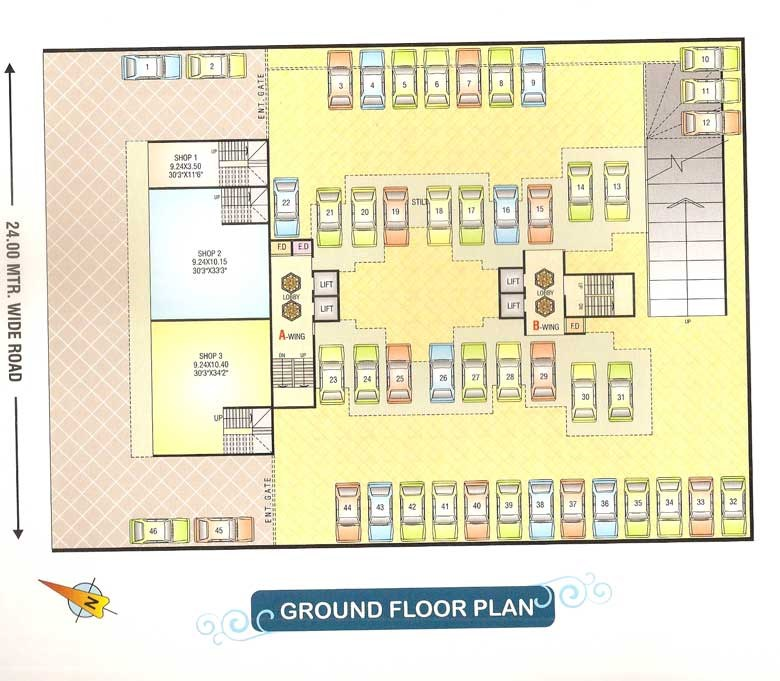 Sai Prasad Residency Floor Plan 6