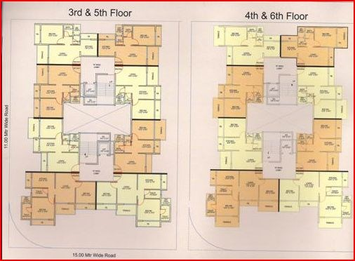 Shivam Galaxy Floor Plan I
