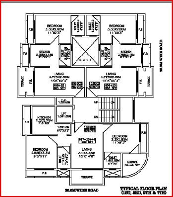 Swaraj Crystal Floor Plan I