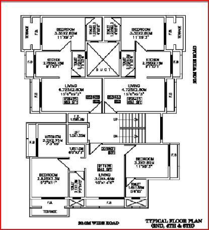 Swaraj Crystal Floor Plan II