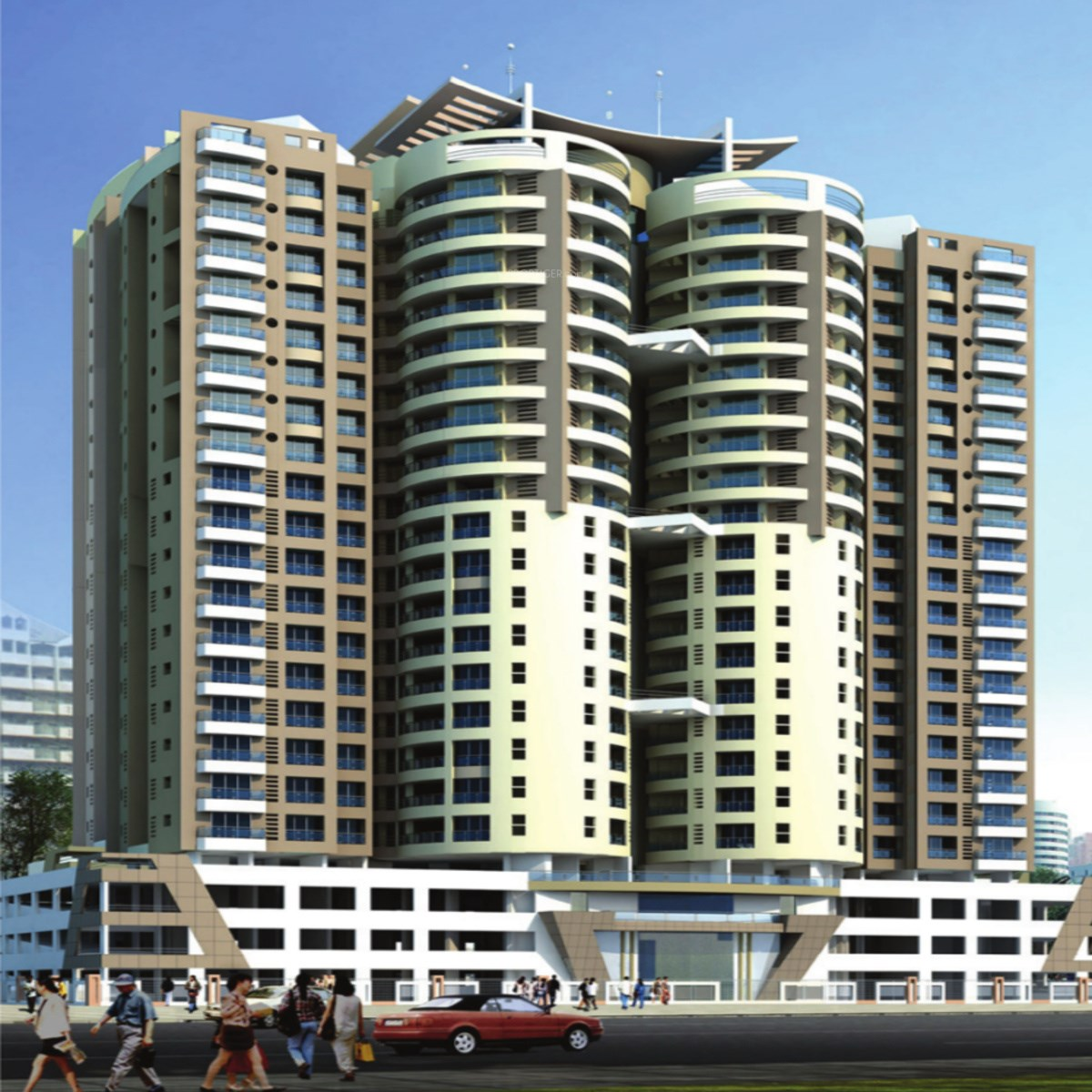 Cosmopolis Tower, Andheri West