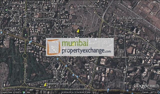 Chembur Castle Google Earth