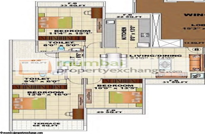 Mahavir Whispers Floor plan 2