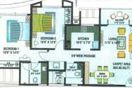 4424 Oth Floor Plan I - Raj Residency, Thane West