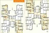 4439 Oth Floor Plan - Siddhivinayak Towers , Bhayandar
