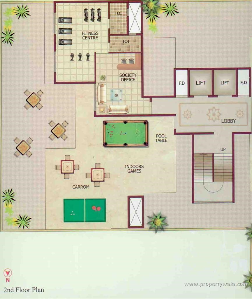 Mount Blanc Floor Plan II