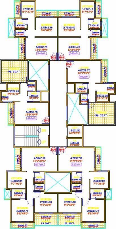 Shiv Prakash Residency Floor Plan 4