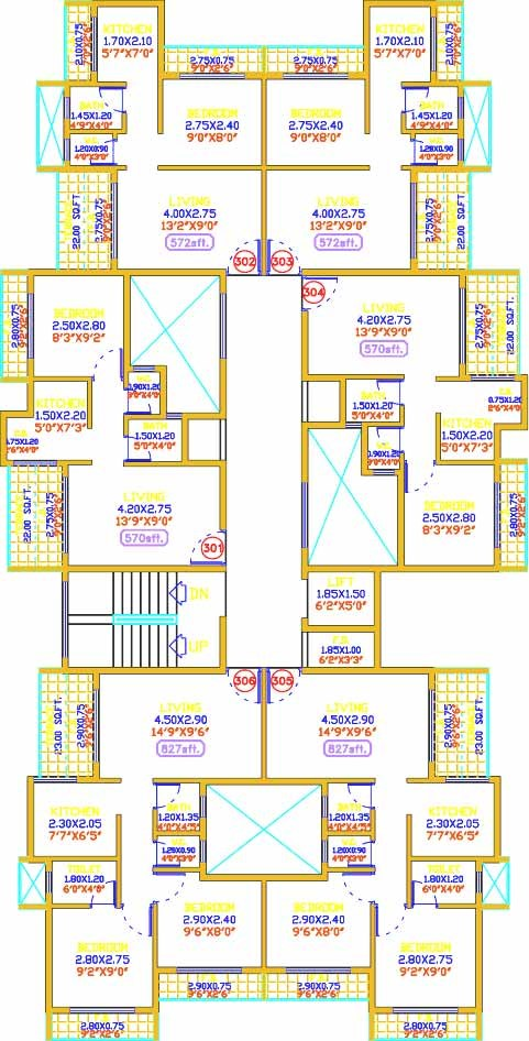 Shiv Prakash Residency Floor Plan 5