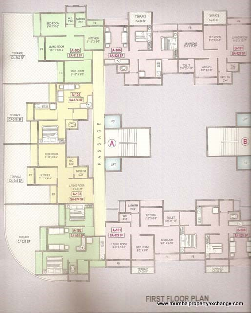 Vishwa Highlands Floor Plan 2