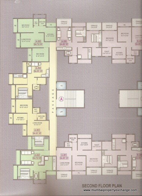 Vishwa Highlands Floor Plan 6