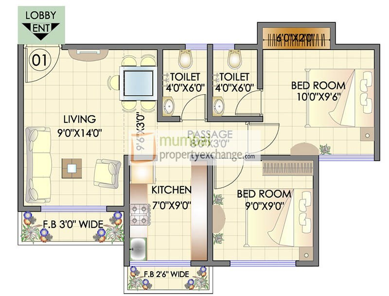 Residency Park Floor Plan 7