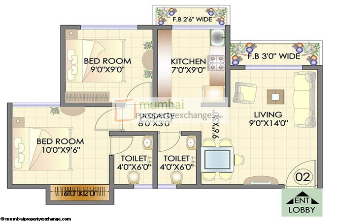 Residency Park Floor Plan 8