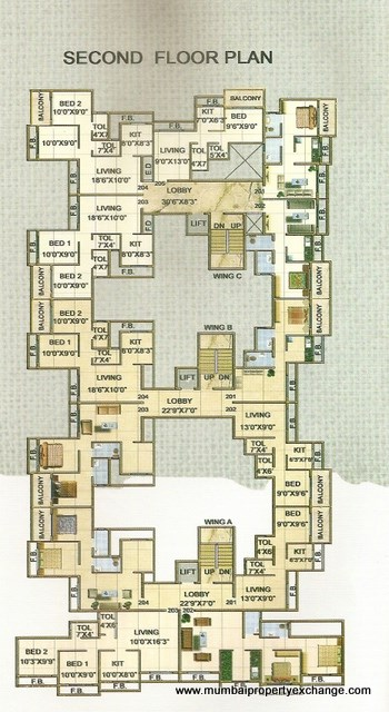 Space Residency Floor Plan 1