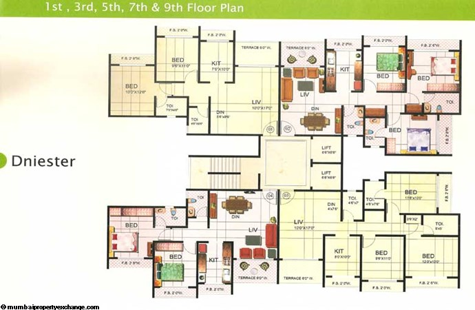 Riverdale Floor Plan 1