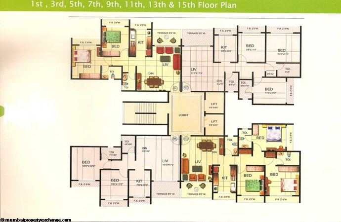 Riverdale Floor Plan 3