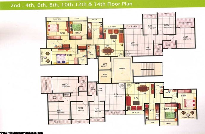 Riverdale Floor Plan 4