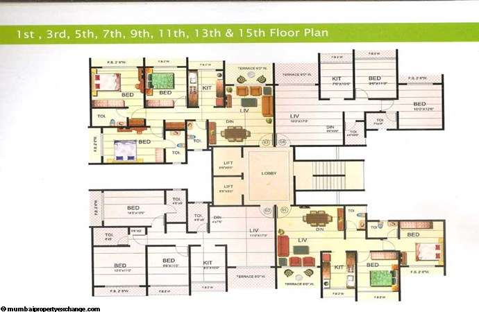 Riverdale Floor Plan 5