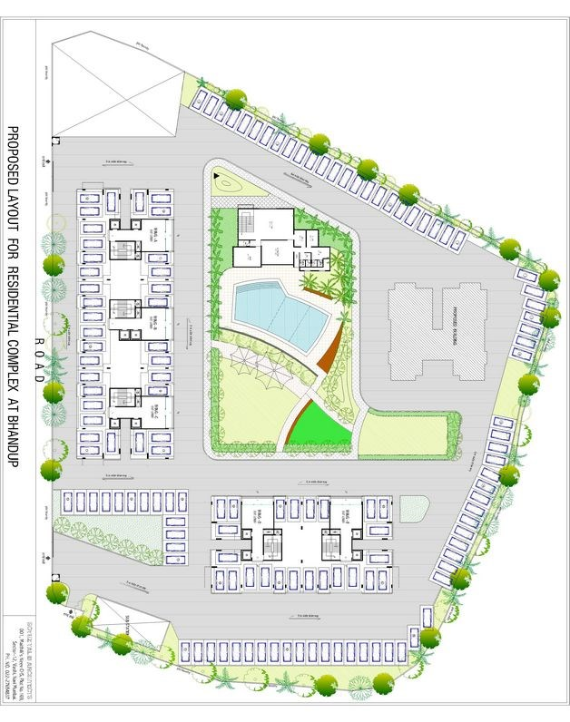 Mayuresh Residency Layout