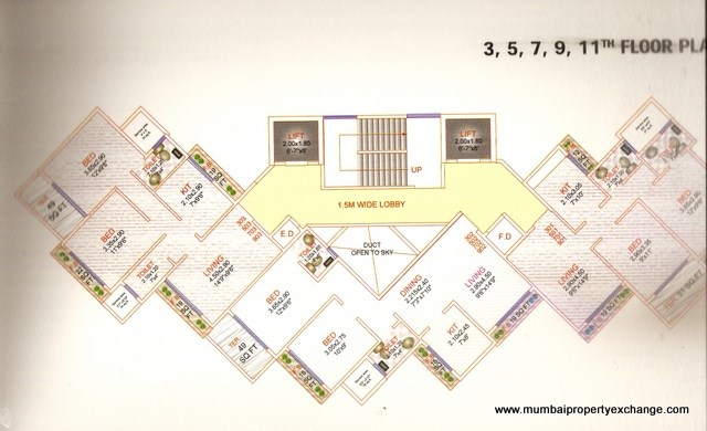 Ishwar Bliss Floor Plan 3