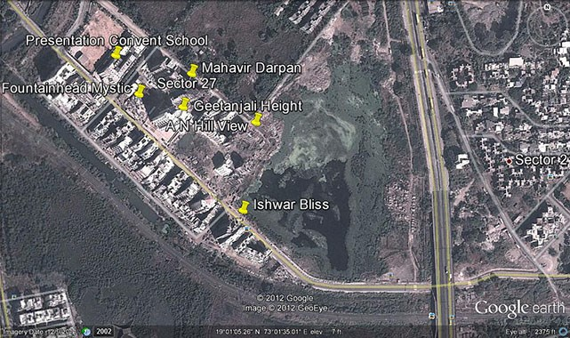 Ishwar Bliss Google Earth