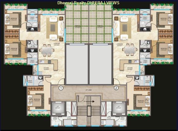Views Floor Plan I